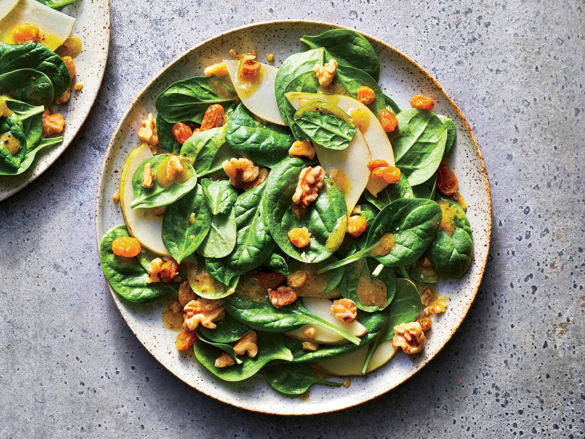 Honey-Ginger Pear Salad