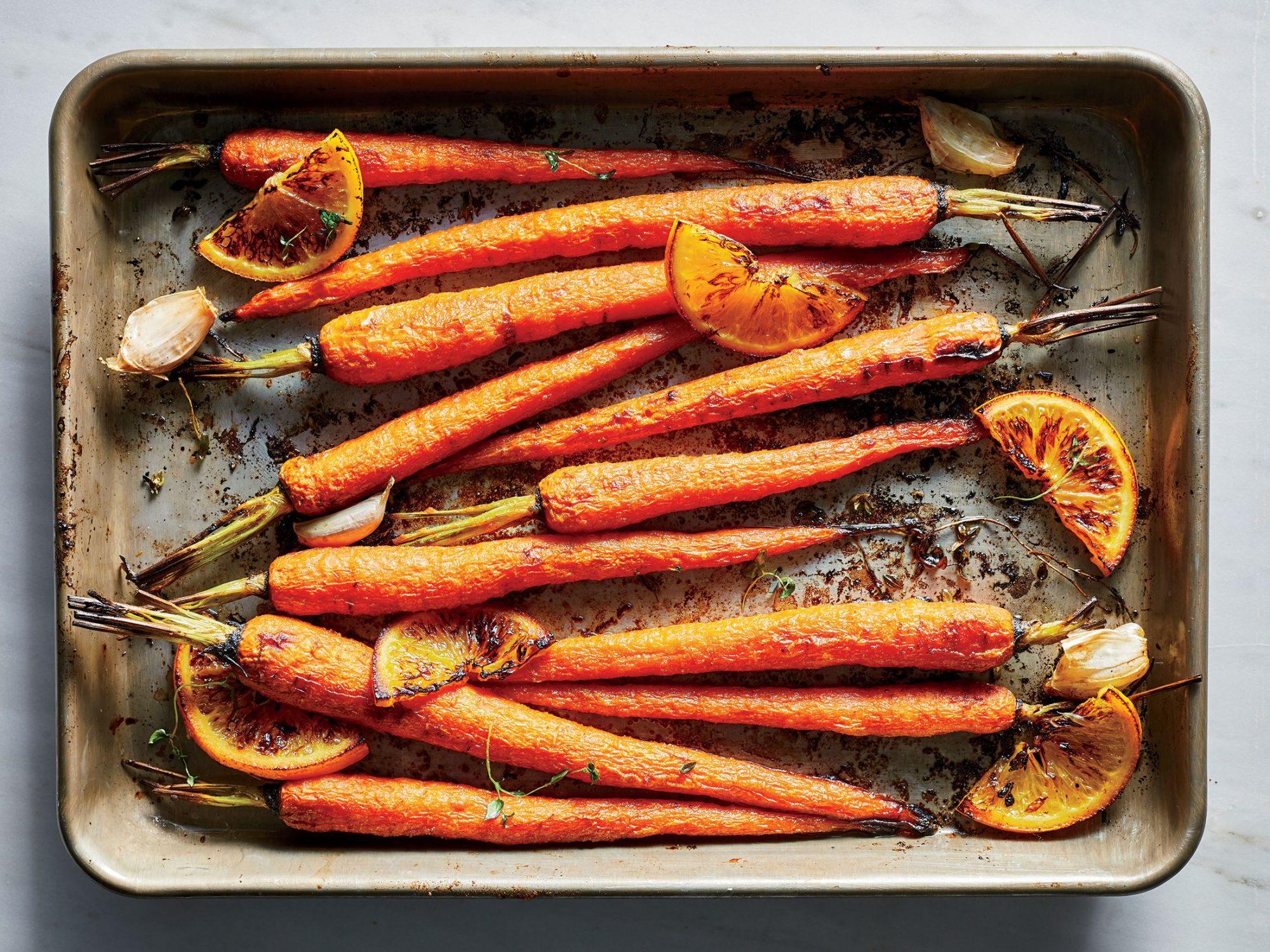 Ginger-Orange Carrots