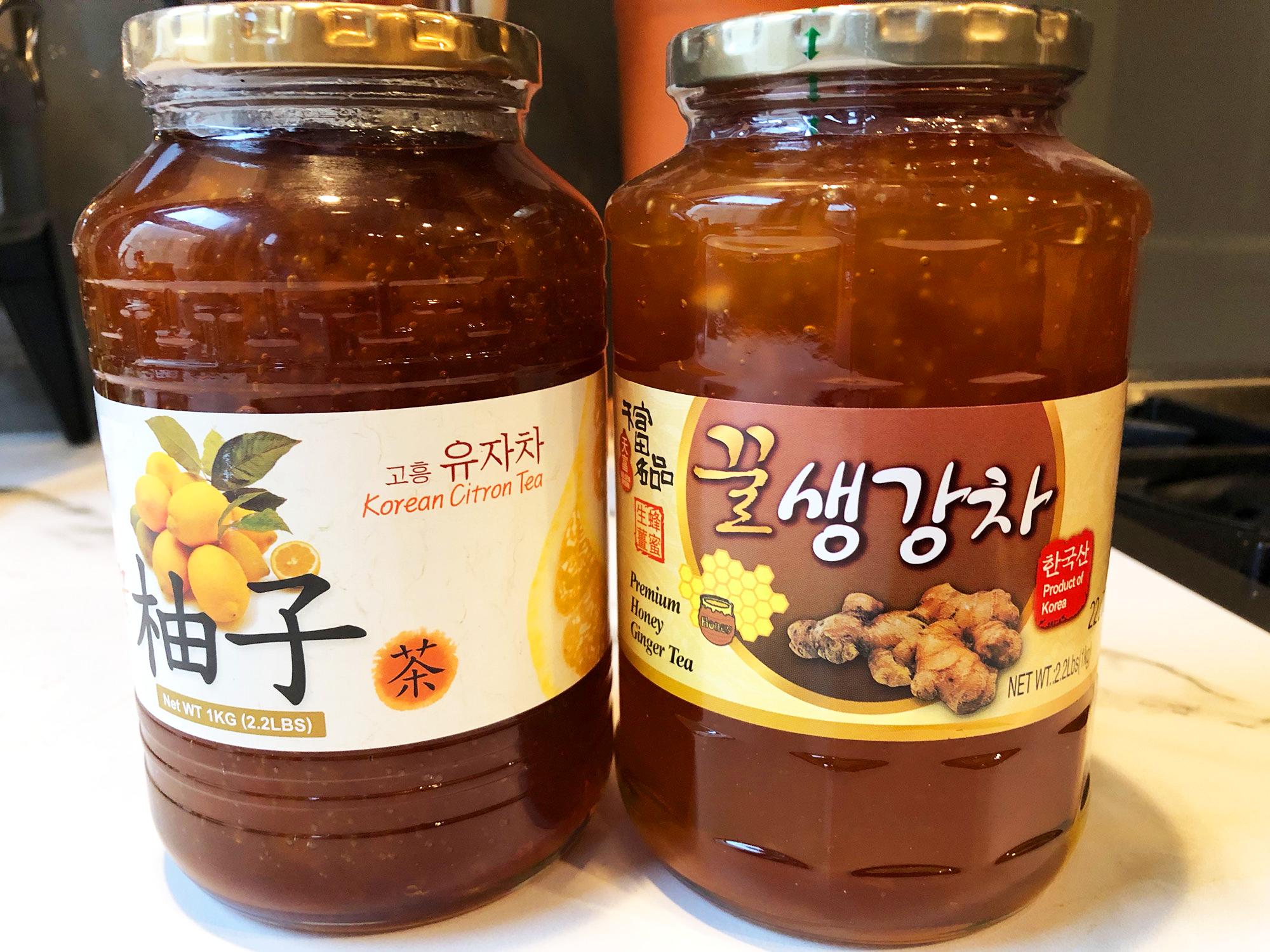 Honey Ginger Jam Tea Is Your Cold Season Savior