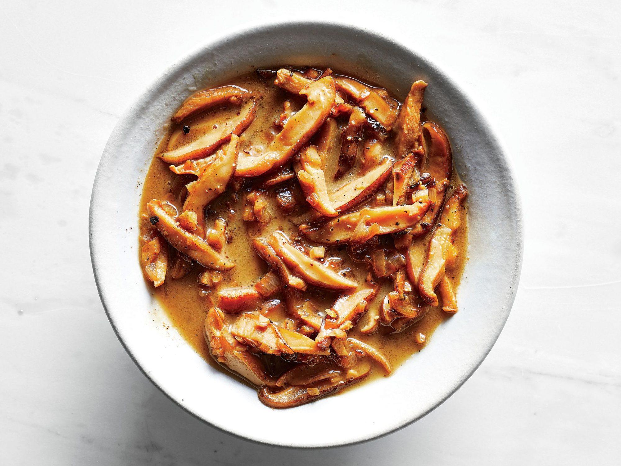Mushroom-Shallot Sauce
