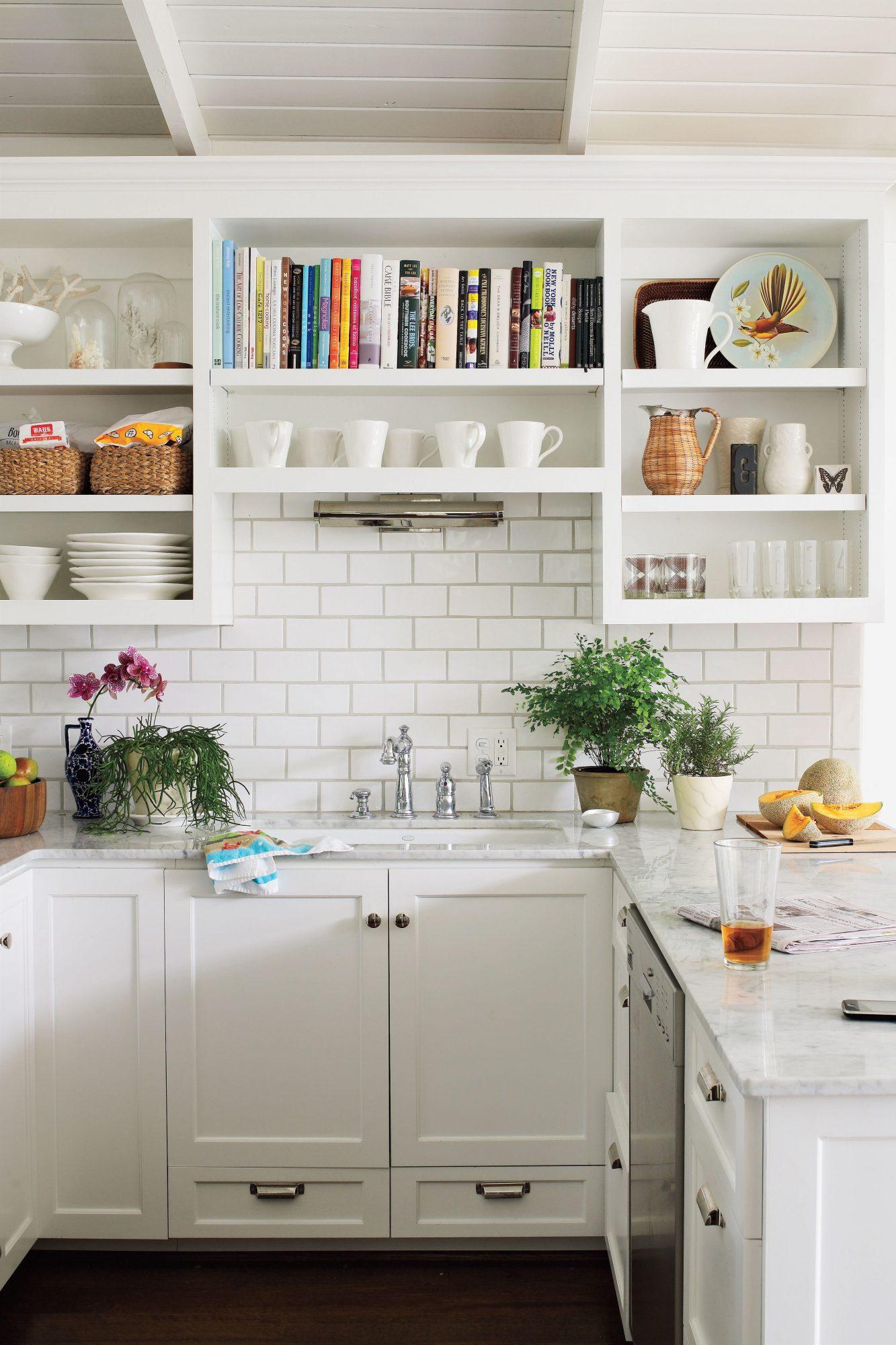 Small Modern White Kitchen