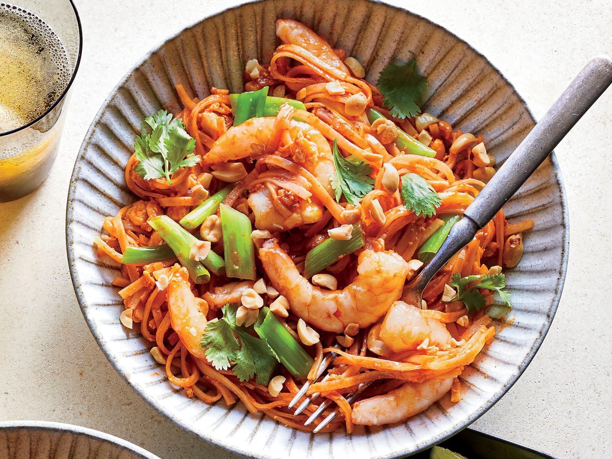 Spicy Shrimp Noodles