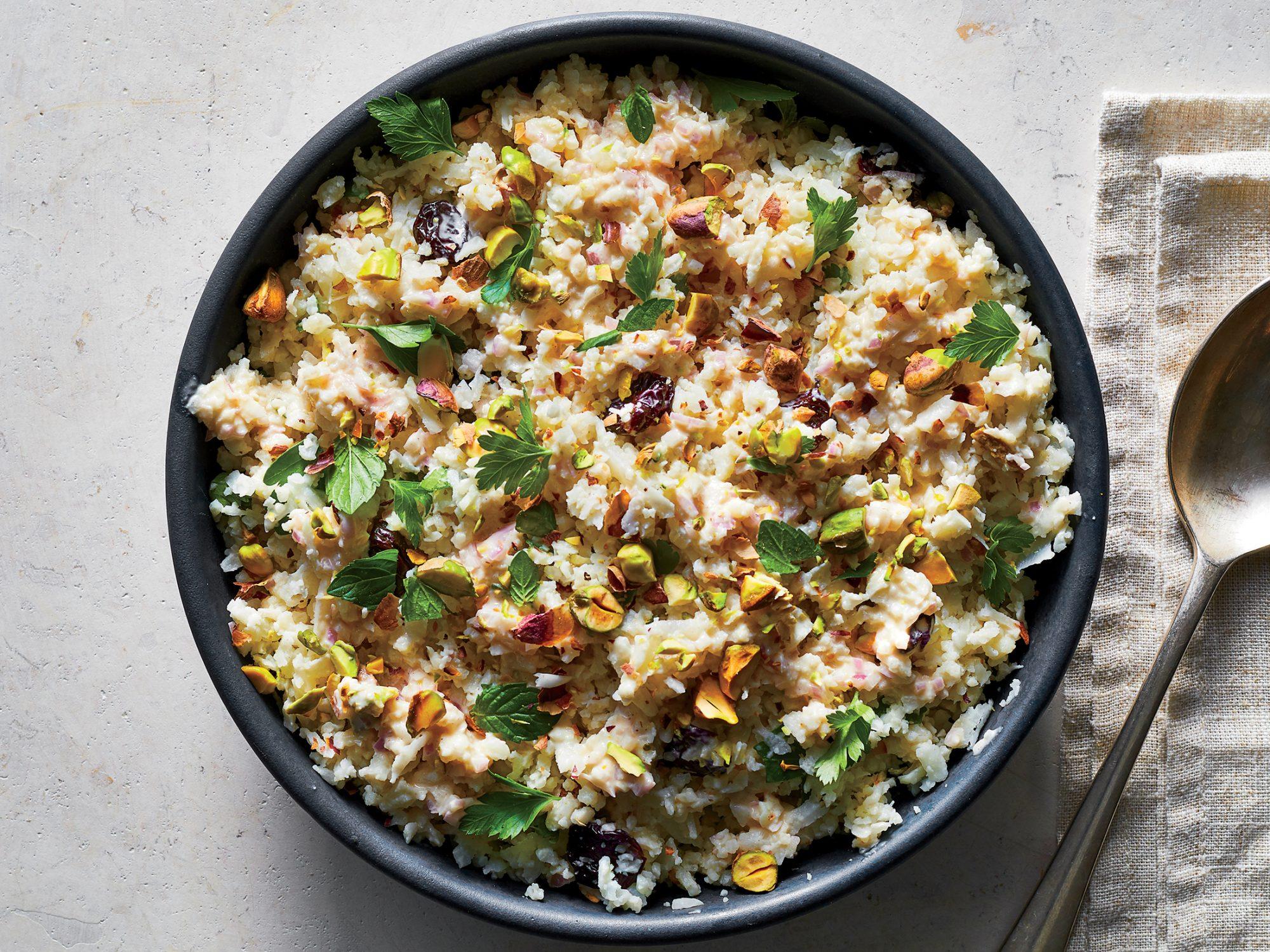 Cauliflower Salad with Tahini Dressing