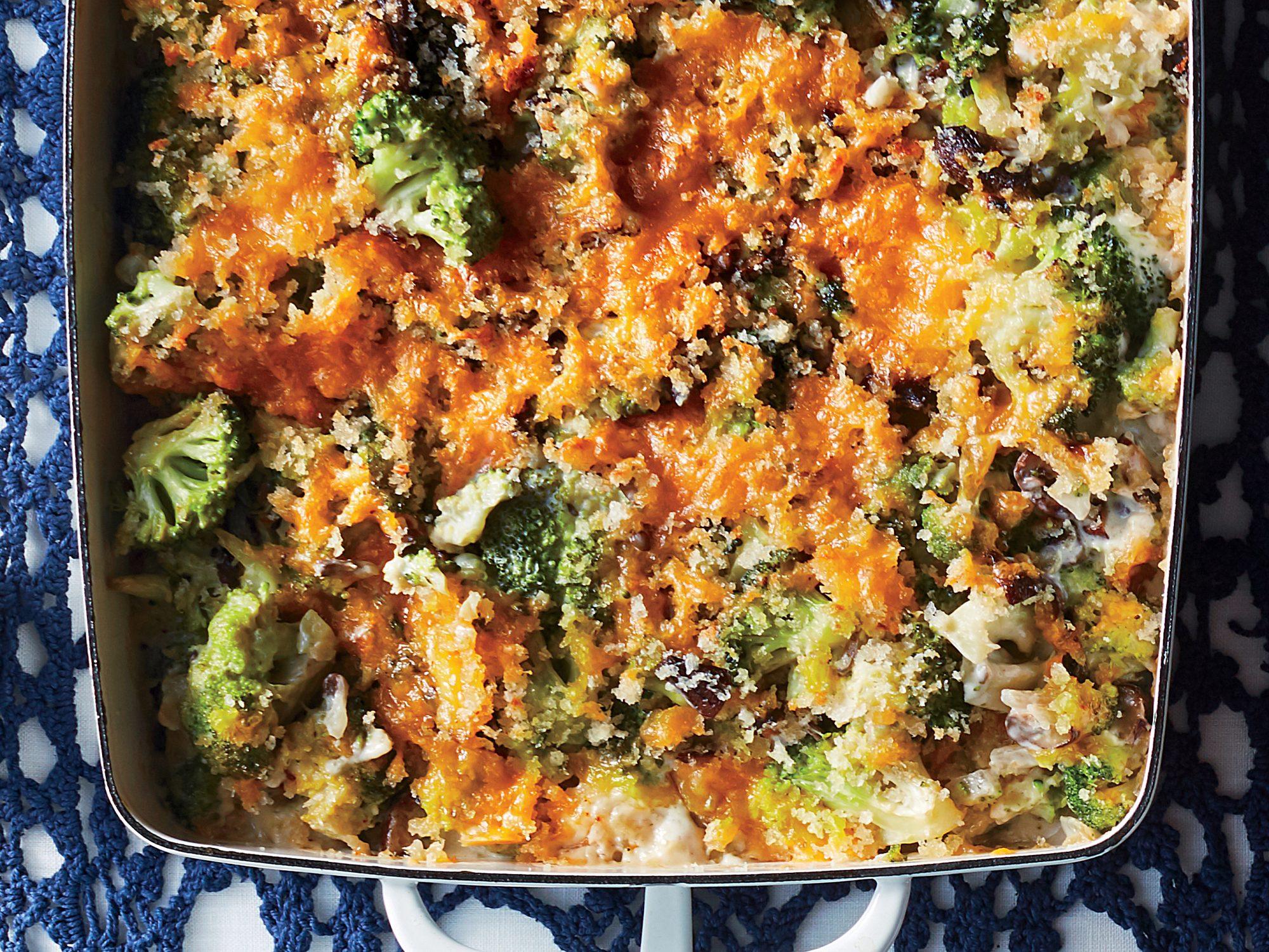 Creamy Broccoli-Cheddar Casserole