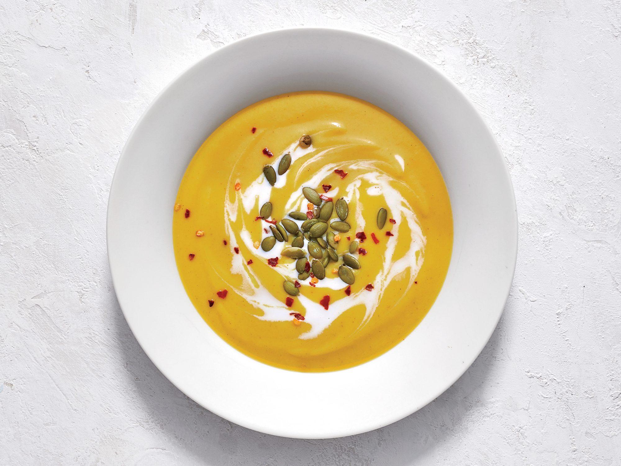 Curried Coconut-Pumpkin Soup