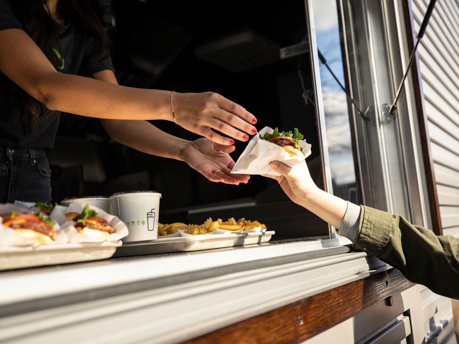 Shake Shack Food Truck