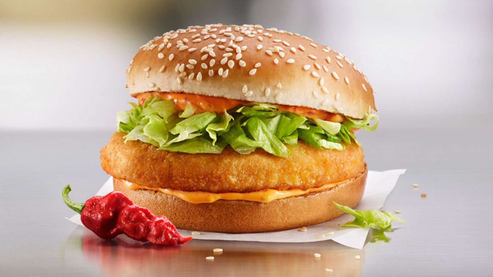 McDonald's Made Three New Spicy McChickens With Different Levels of Heat