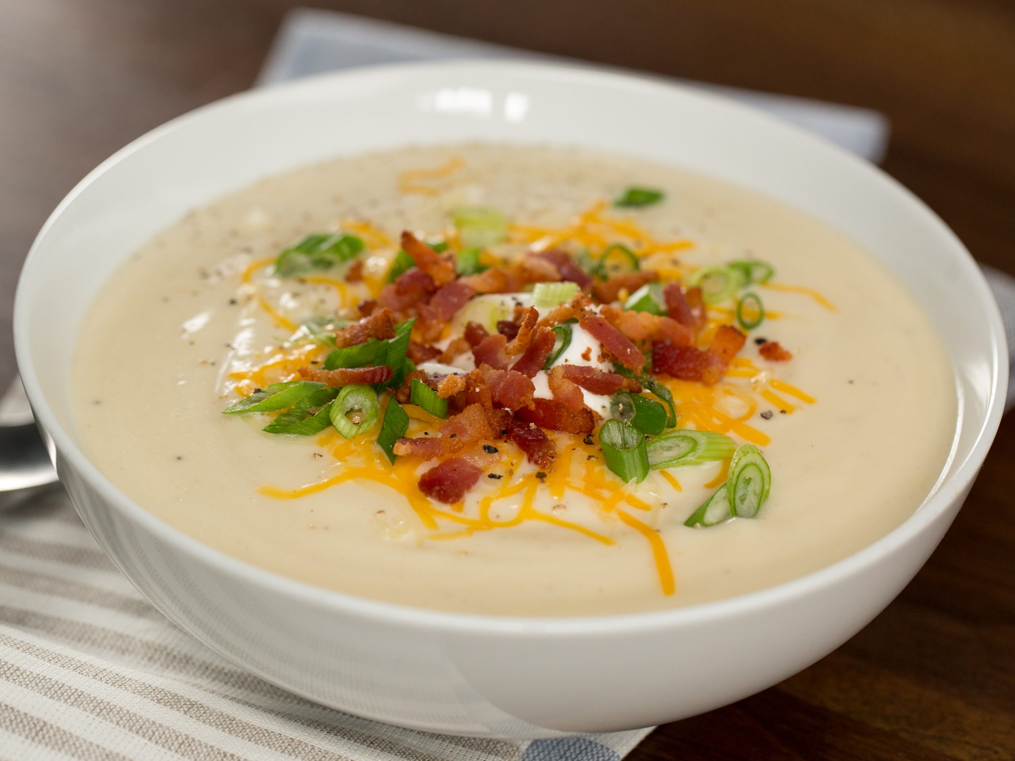 Loaded Faux-Tato Soup image
