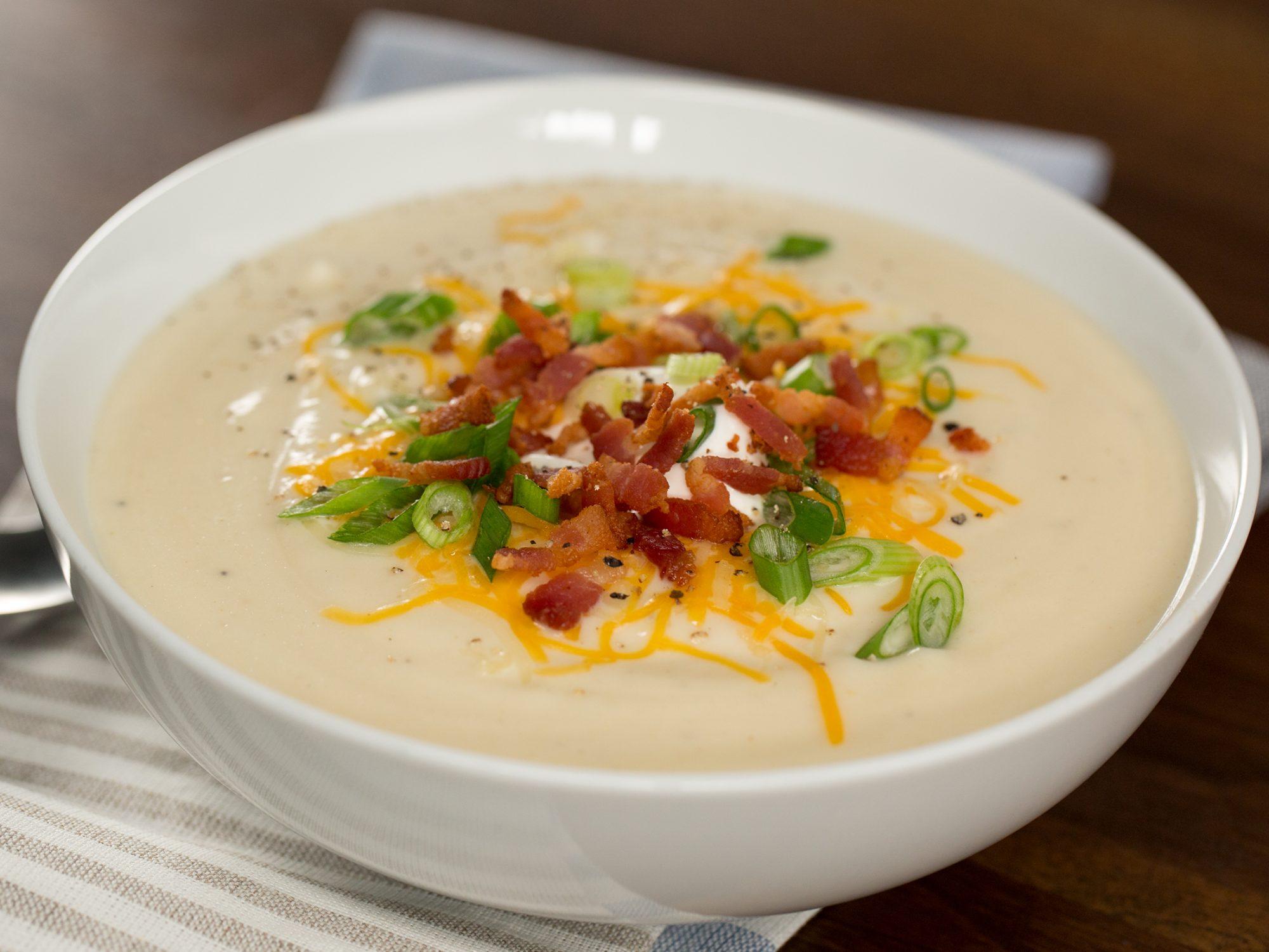 Loaded Faux-Tato Soup image
