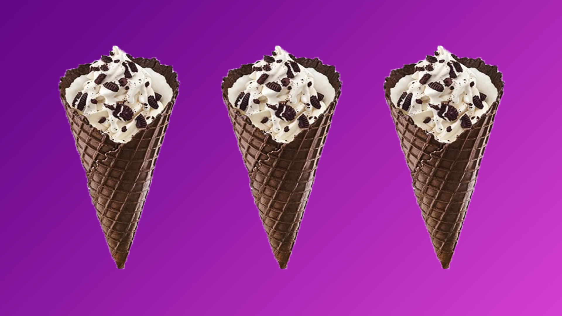 Sonic's Double Stuf Oreo Waffle Cone Is Back and It's Beautiful