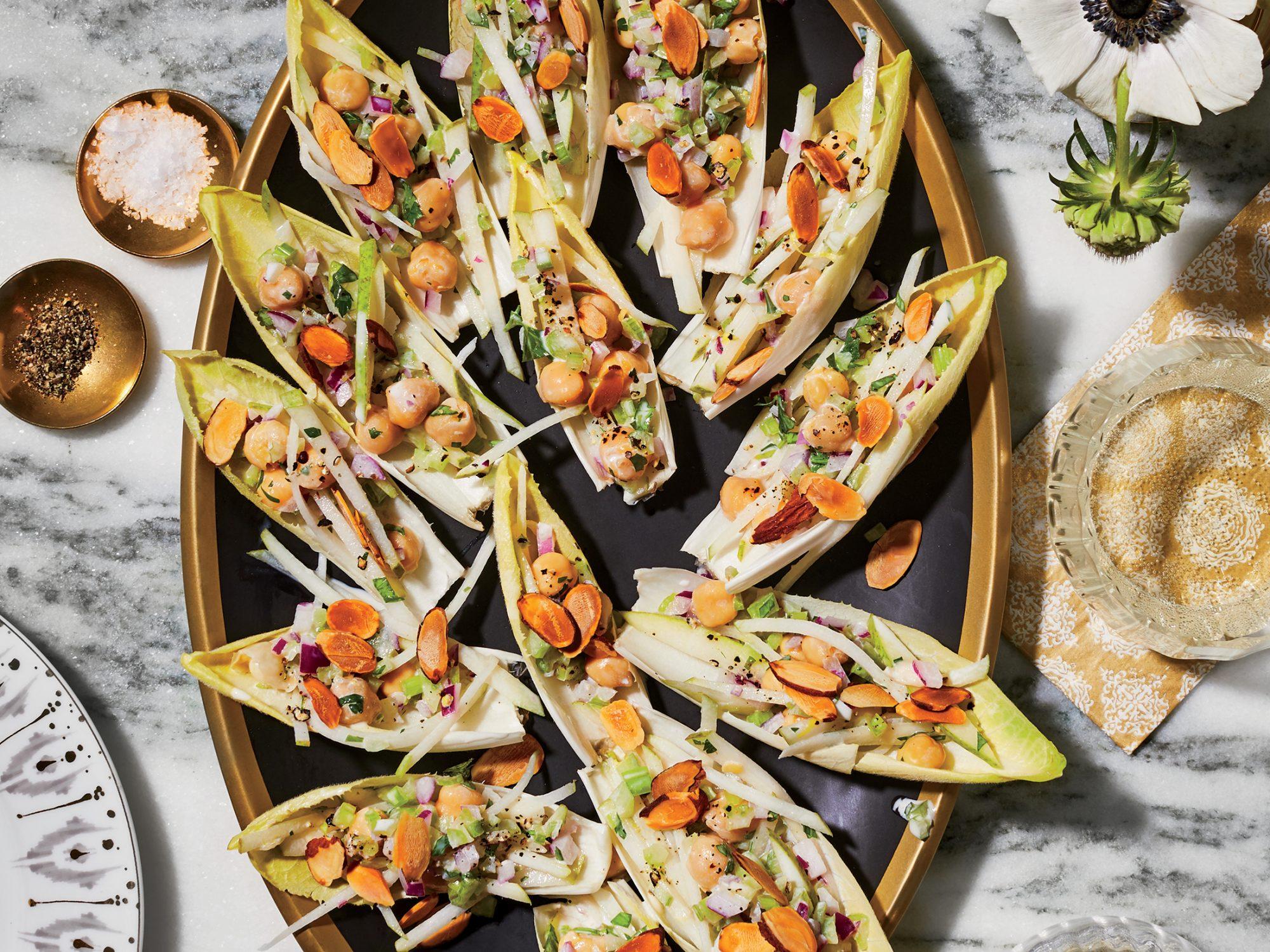 Chickpea Salad Boats