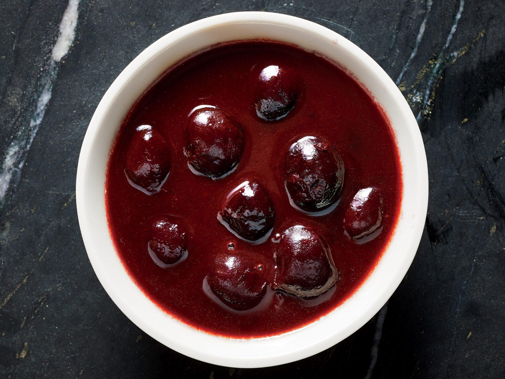 Port-Cherry Sauce