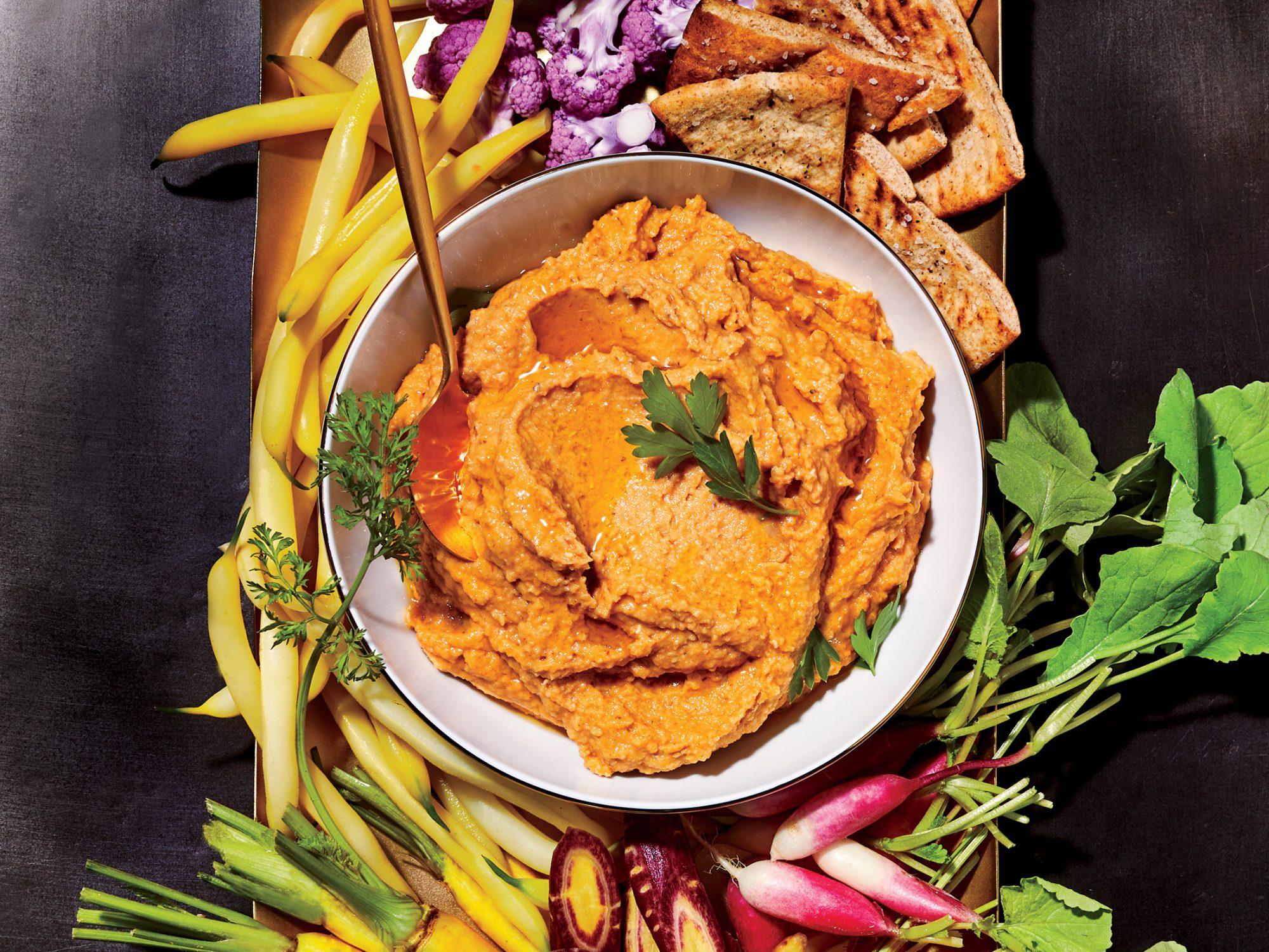 Smoky Red Lentil Hummus