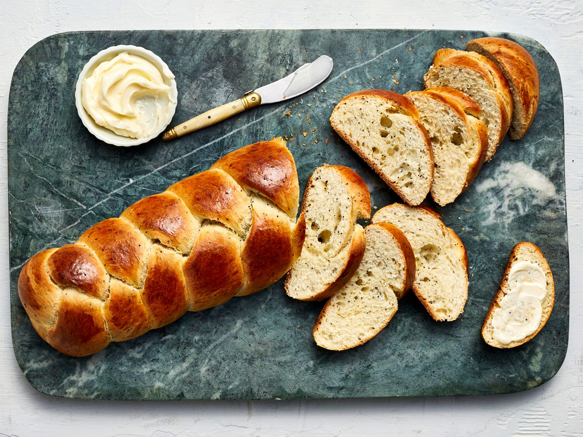 Braided Lemon Bread image
