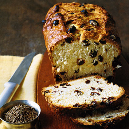 Irish Soda Loaf RecipeTraditional Irish soda bread is a staple in any Irish meal and uses baking soda, rather than yeast, as a leaven. Caraway seeds are added for crunch, and raisins yield a sweet surprise with every bite.