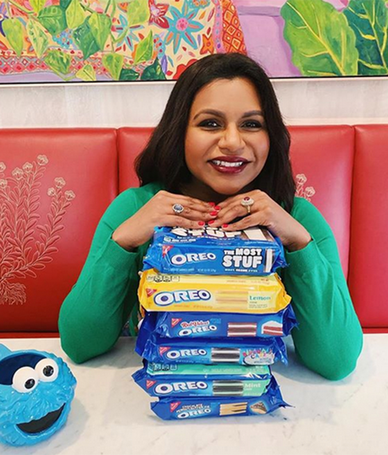 Mindy Kaling Tasted All of the Crazy Oreo Flavors and Picked a Clear Winner