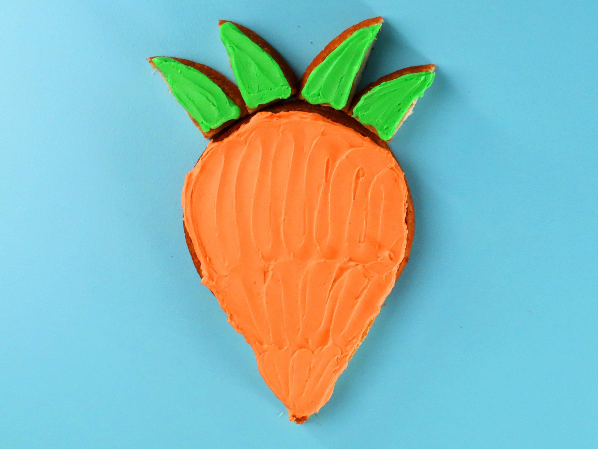 Carrot Easter Cake image