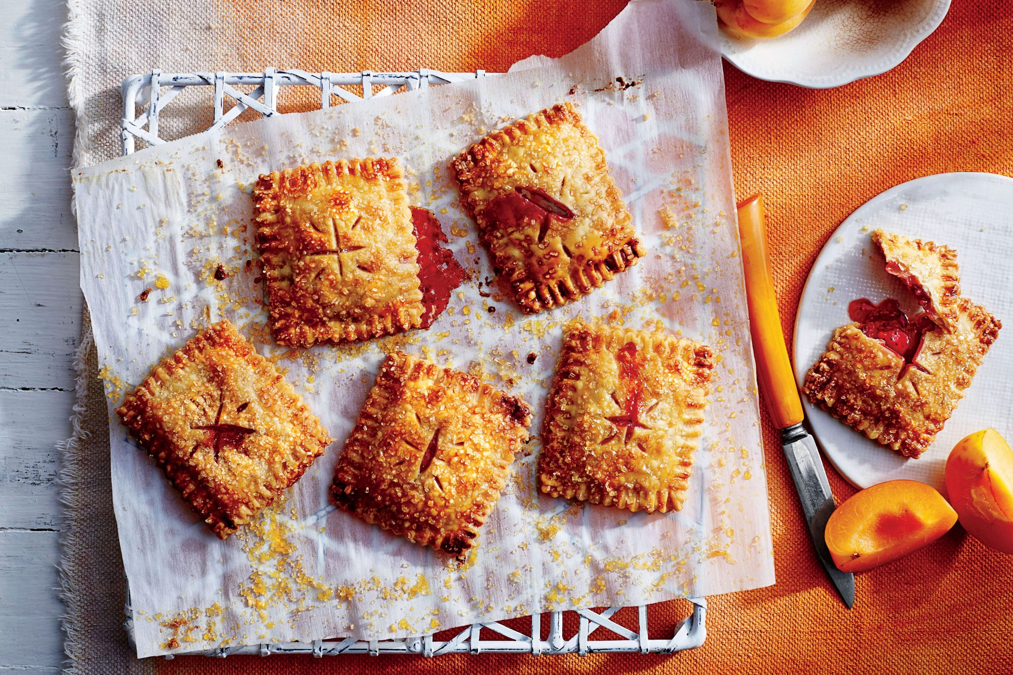 Strawberry-Apricot Hand Pies