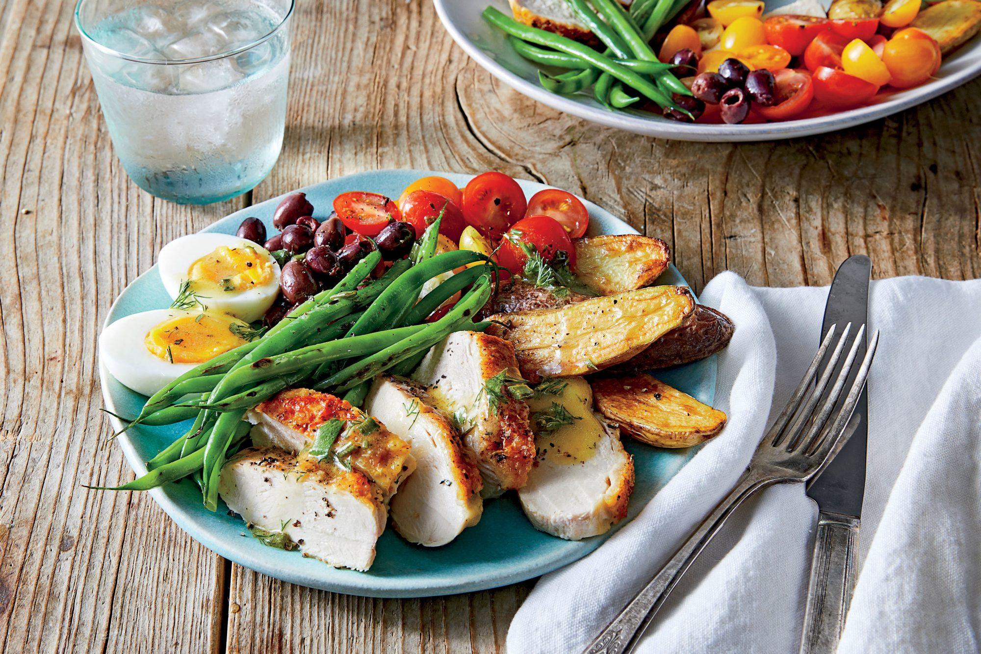 Chicken Niçoise Salad