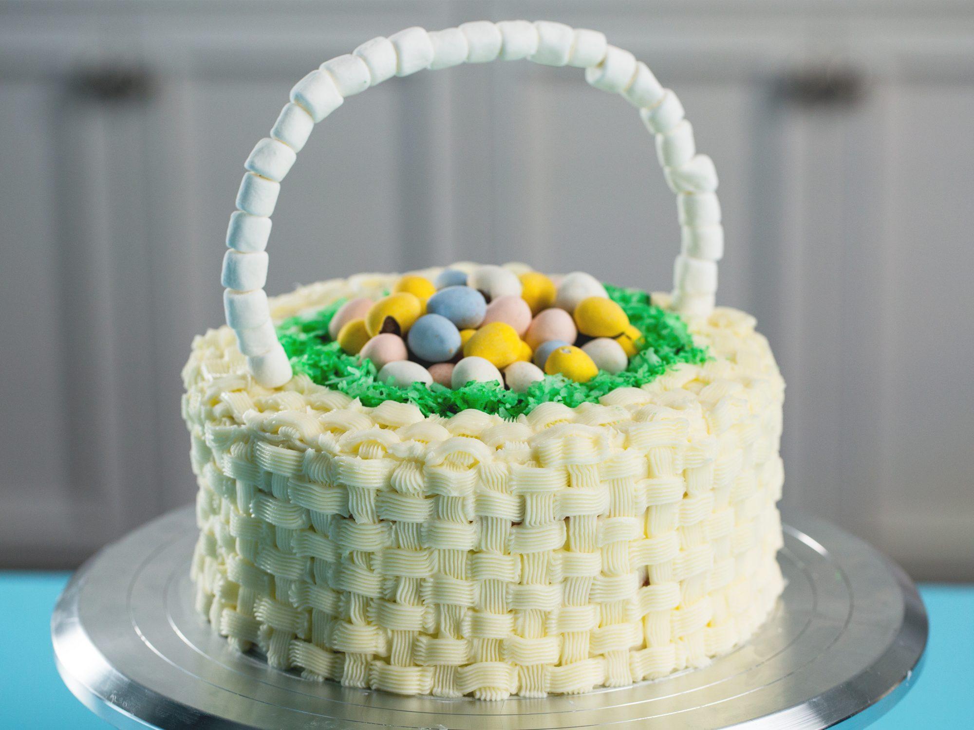 Easter Basket Cake image