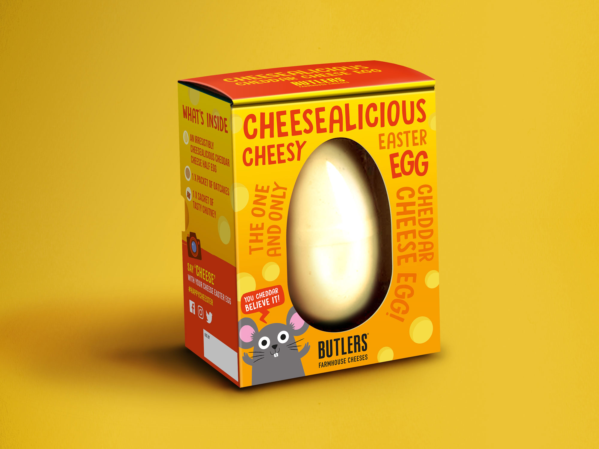 This Easter Egg Made of Cheese Is Everything