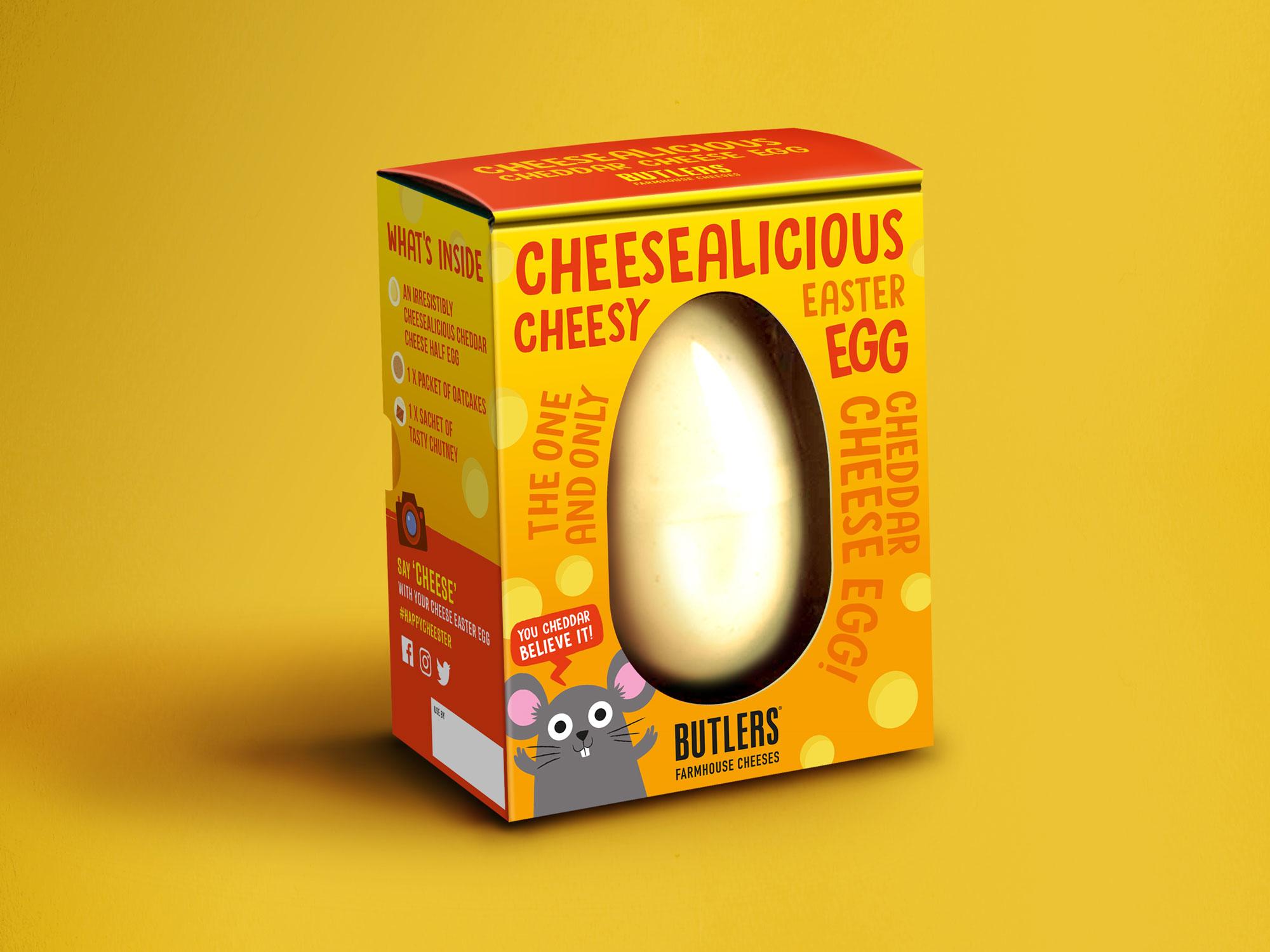 Sainsbury's Cheese Easter Egg