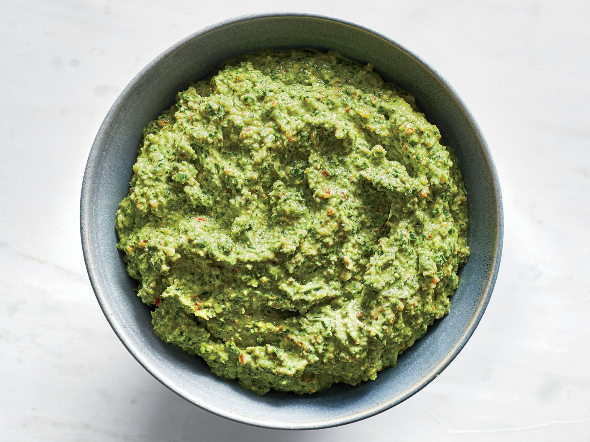 Toasted Pecan and Kale Pesto