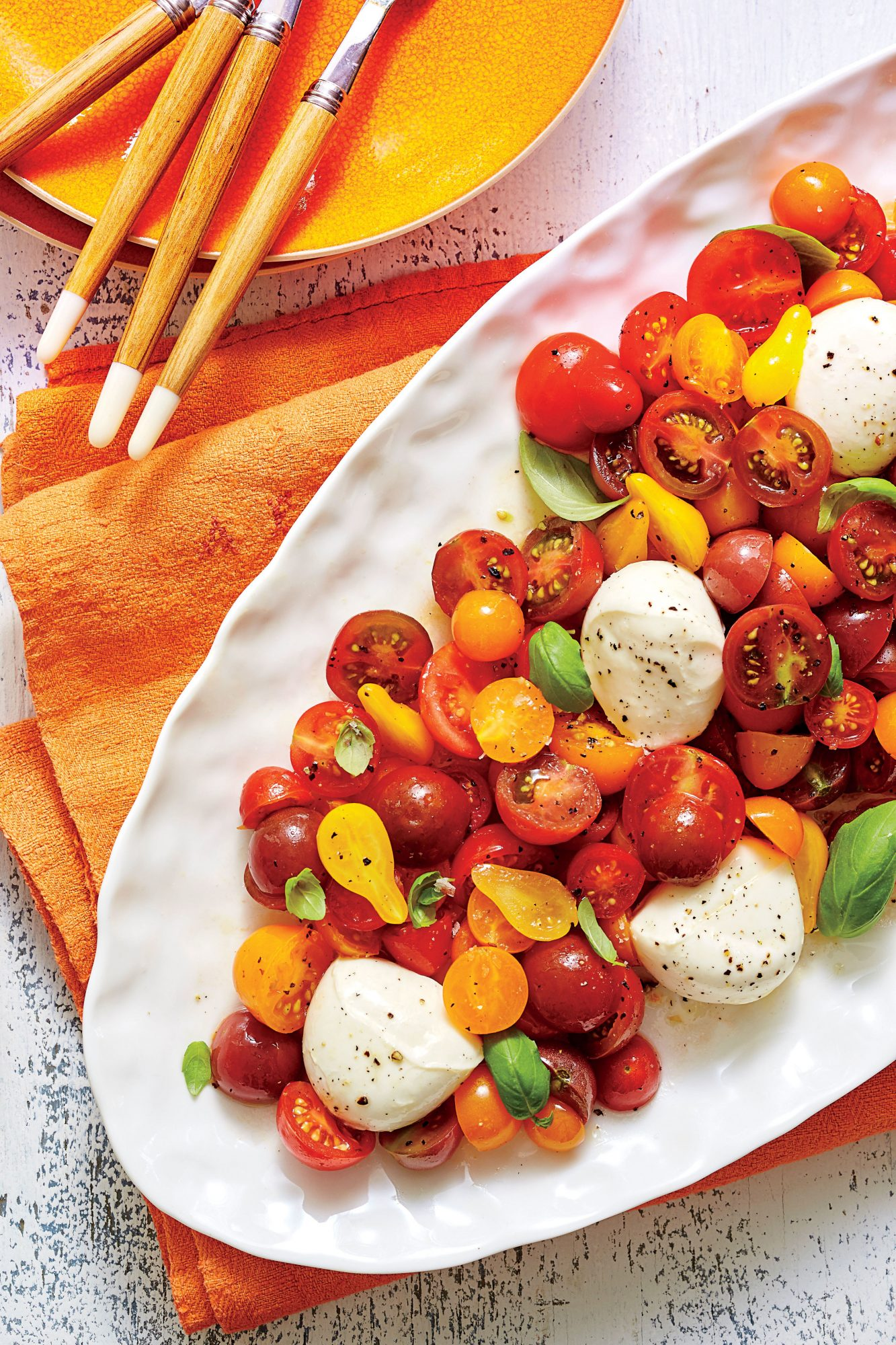 sl-Cherry Tomato Caprese Salad Recipe