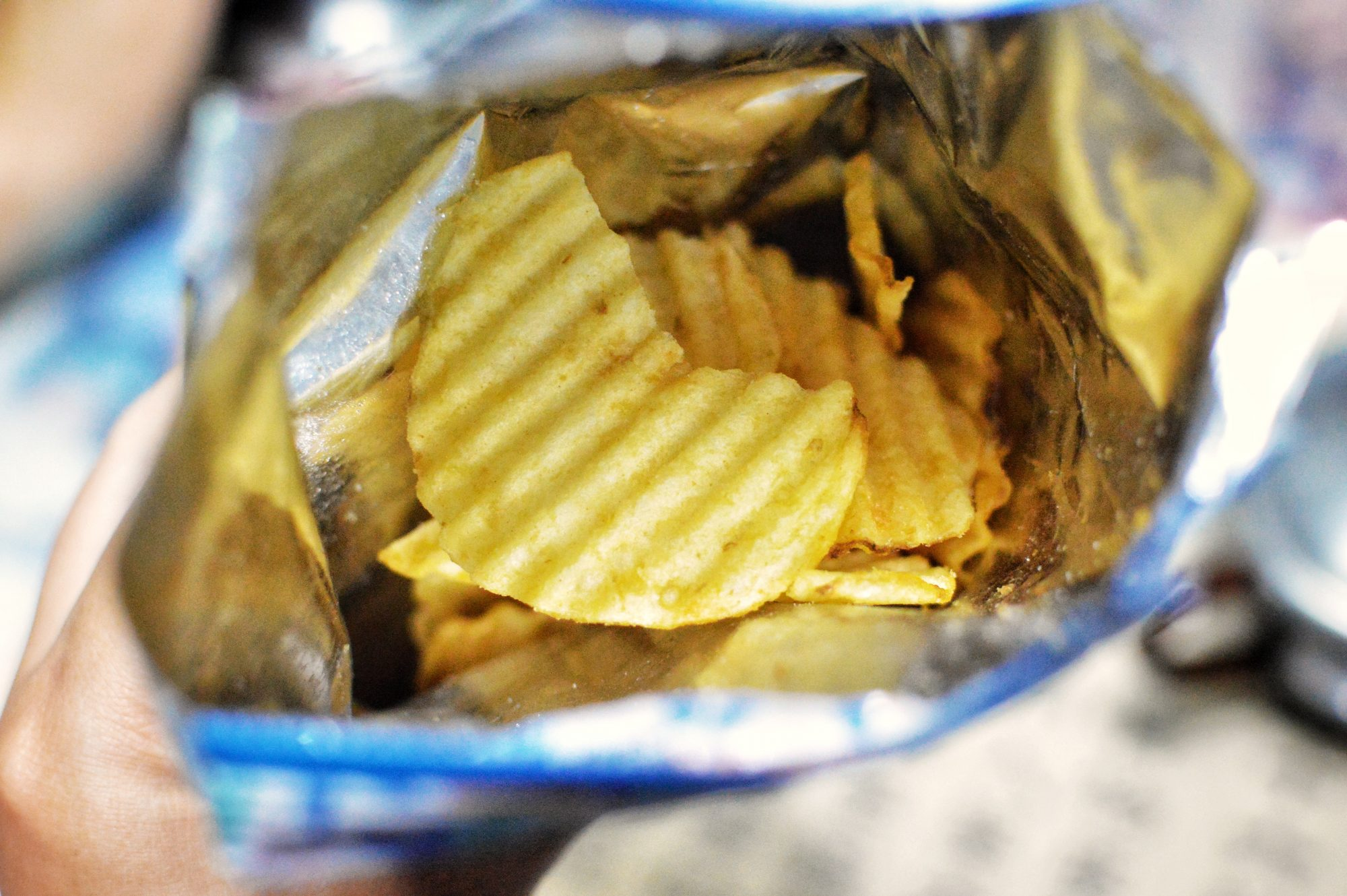 Why Are Potato Chip Bags Always Half-Full?