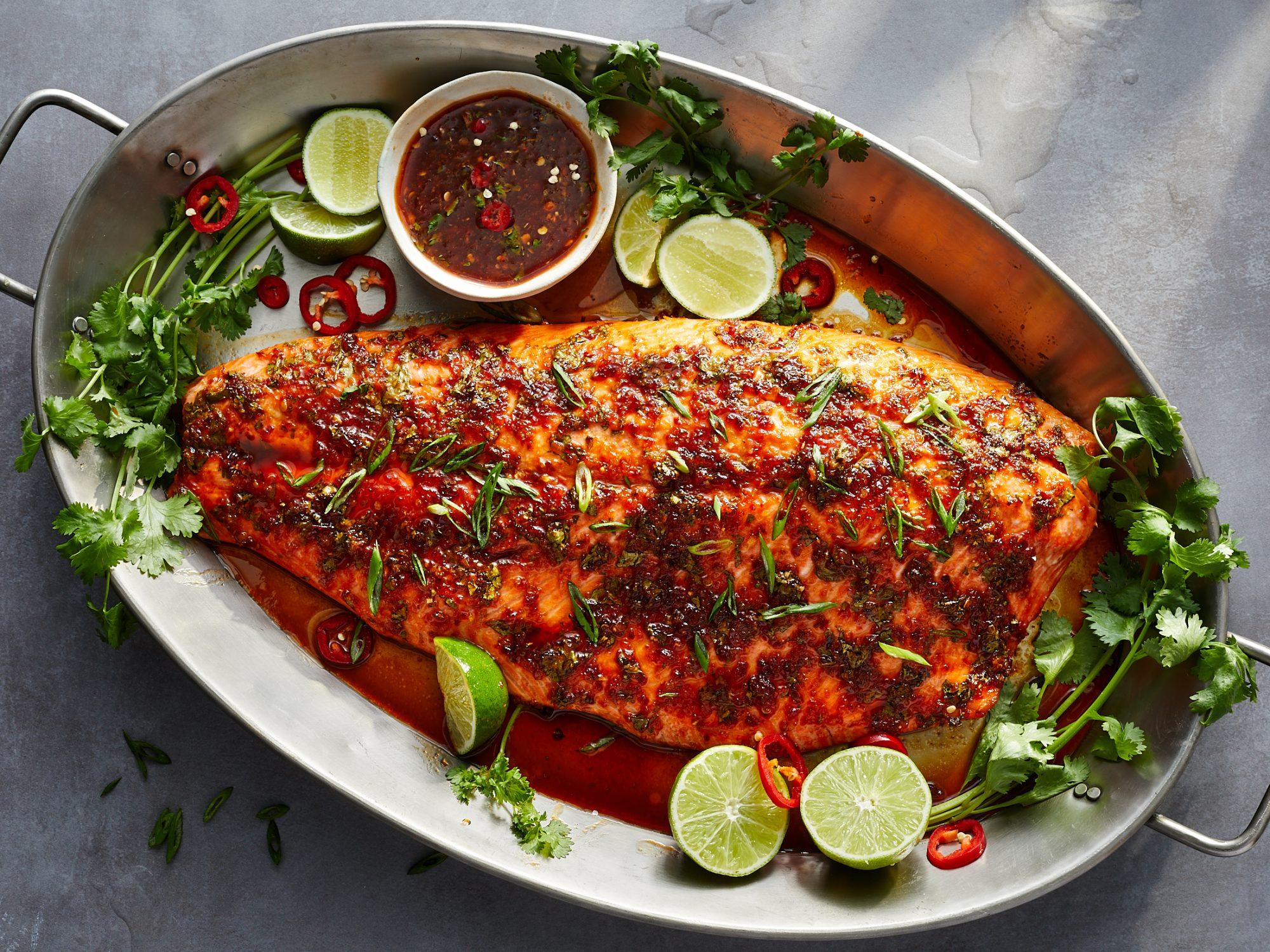 Sweet Chile Roasted Salmon image
