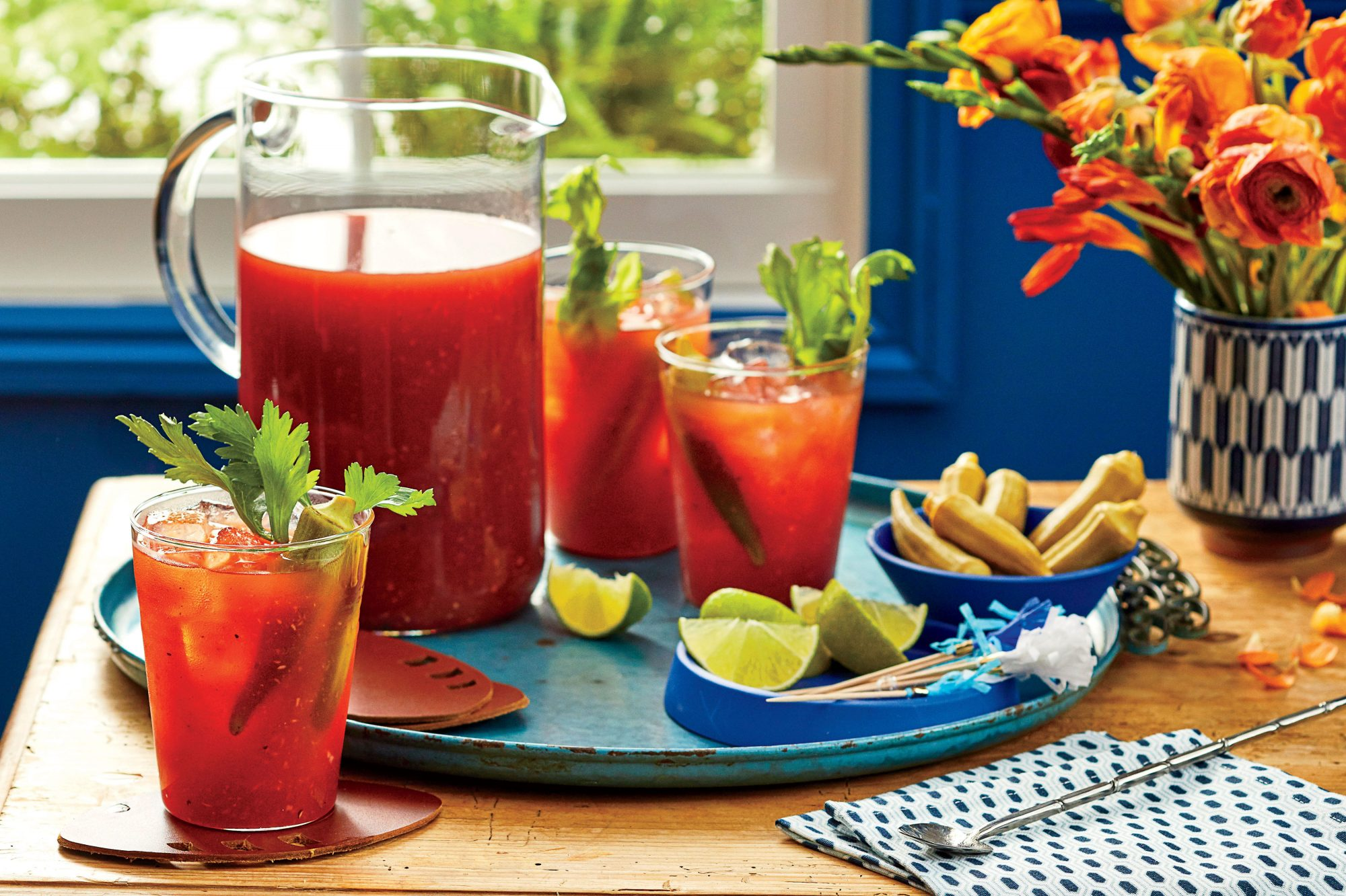 Big Batch Bloody Marys