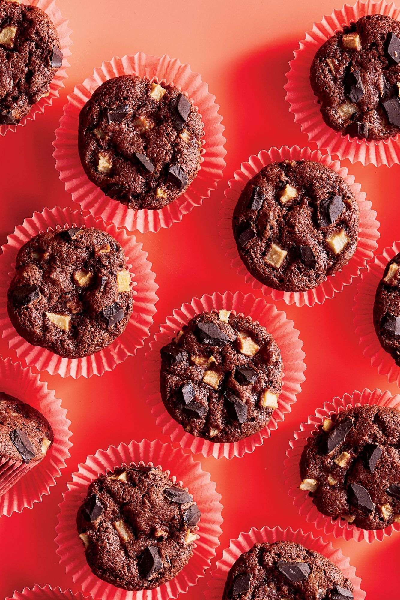 Chocolate-Pear Muffins