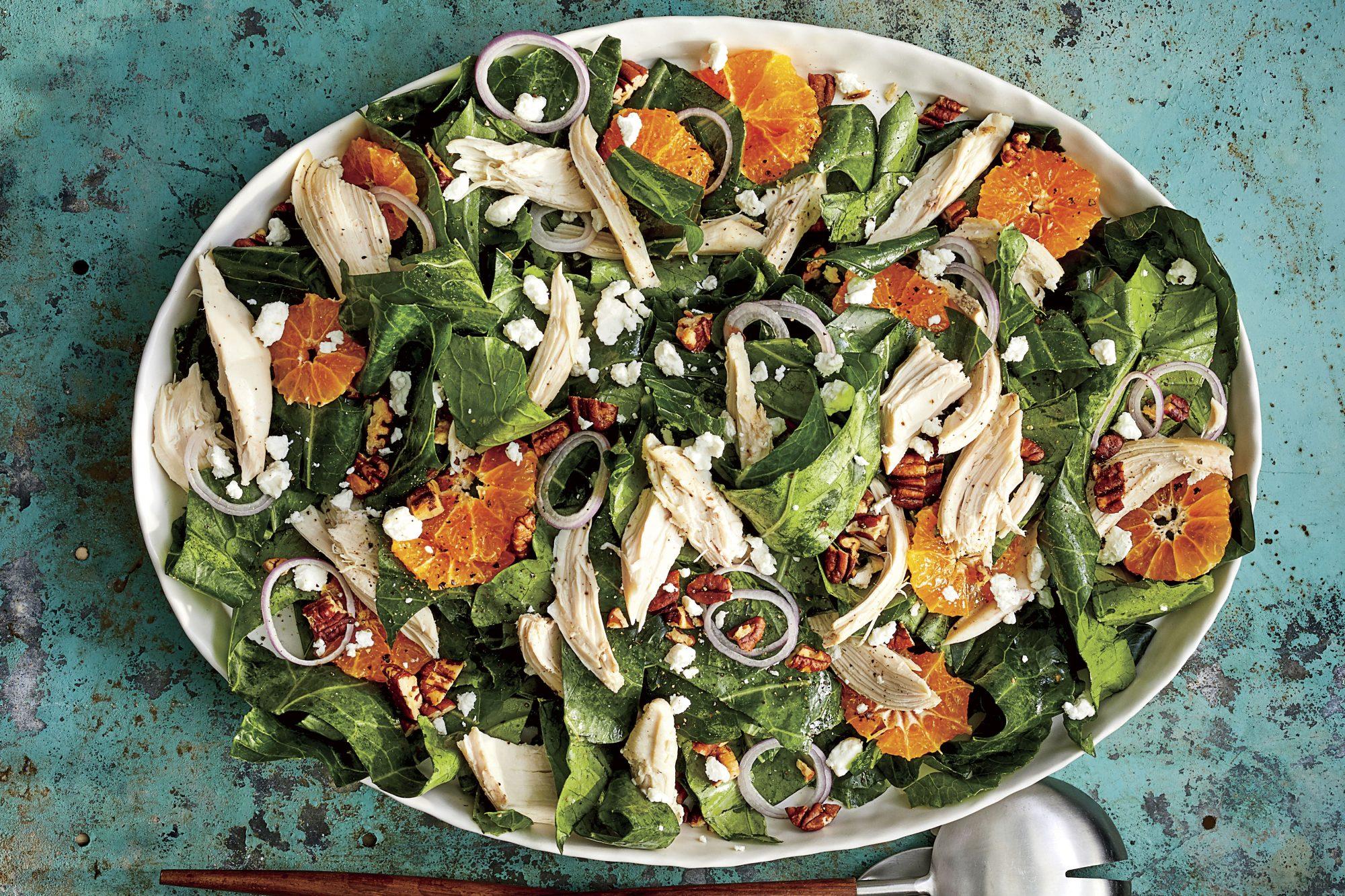 Clementine-and-Collard Salad