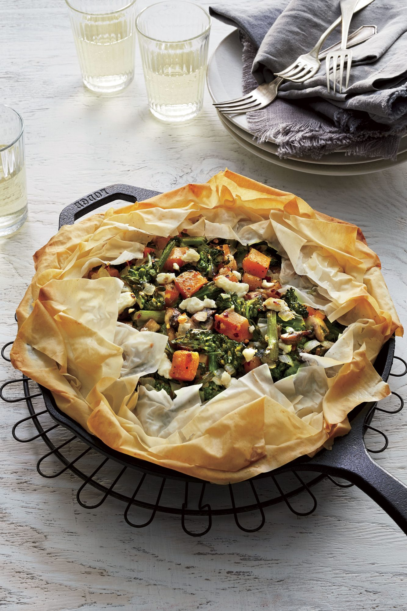 Skillet Vegetable Pie