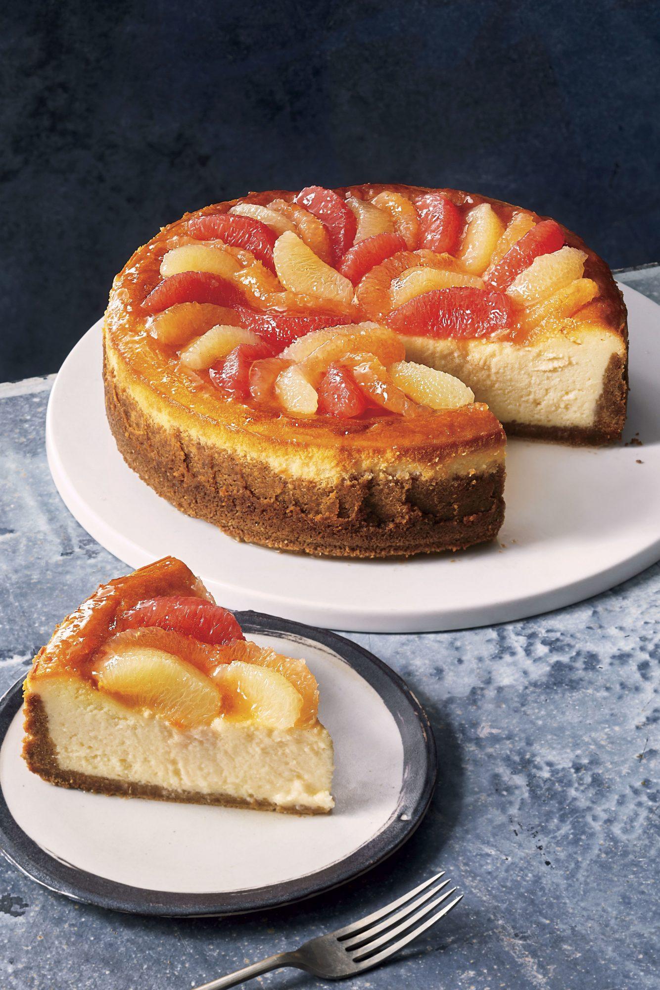 sl-Grapefruit Cheesecake Recipe