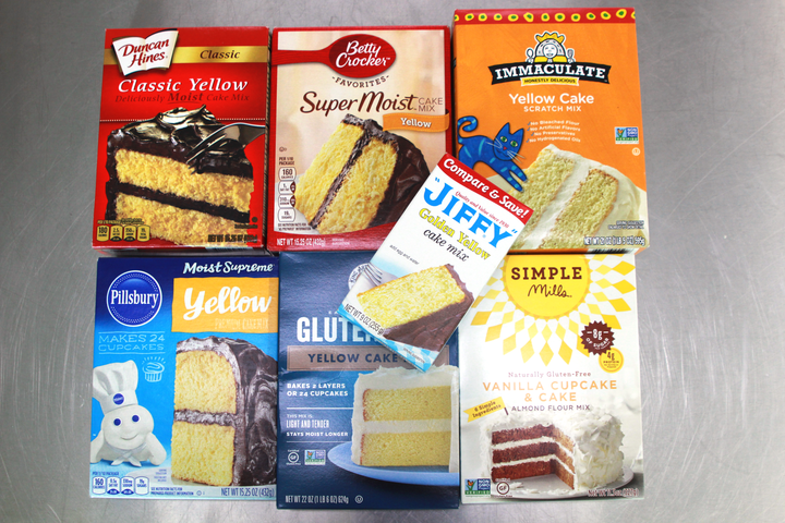We Tried 7 Boxed Yellow Cake Mixes and This Was the Best | MyRecipes