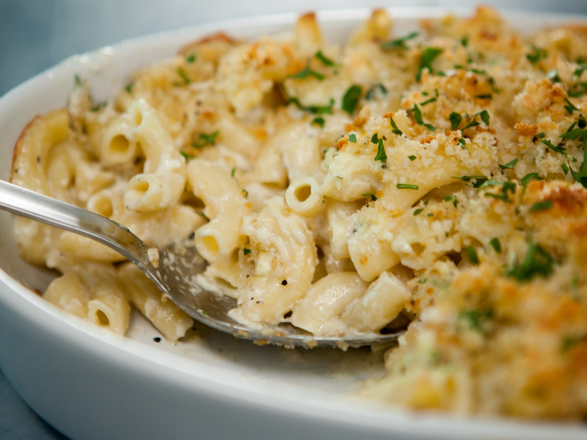 Blue Cheese Mac-And-Cheese