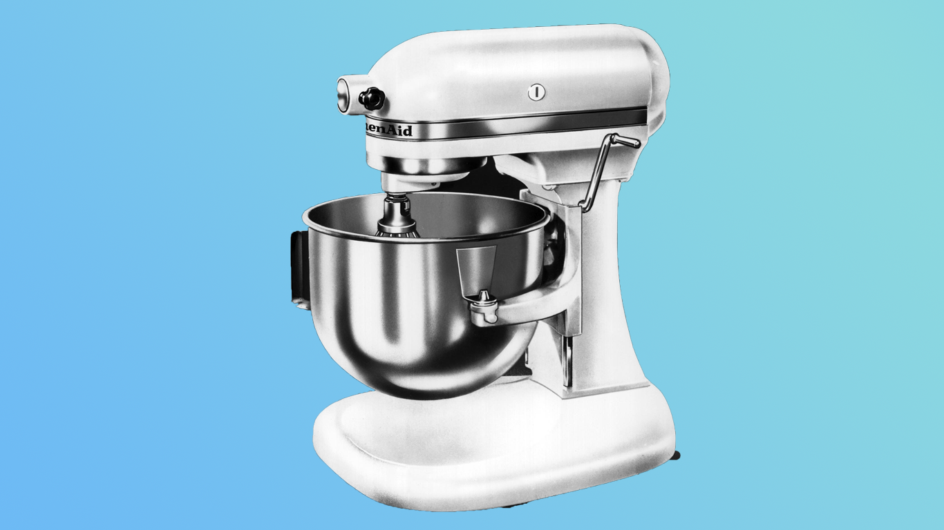 The Subversive History of the KitchenAid Stand Mixer