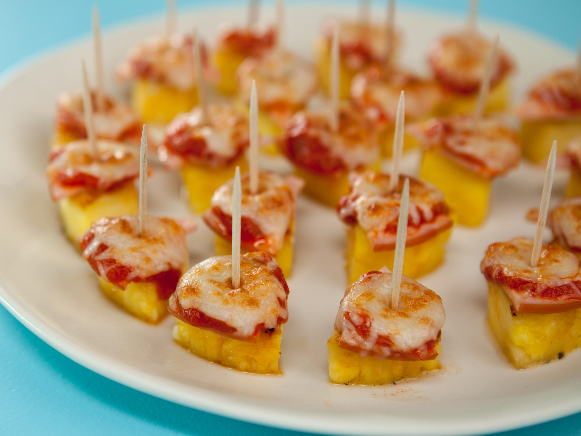 Pineapple Pizza Bites image