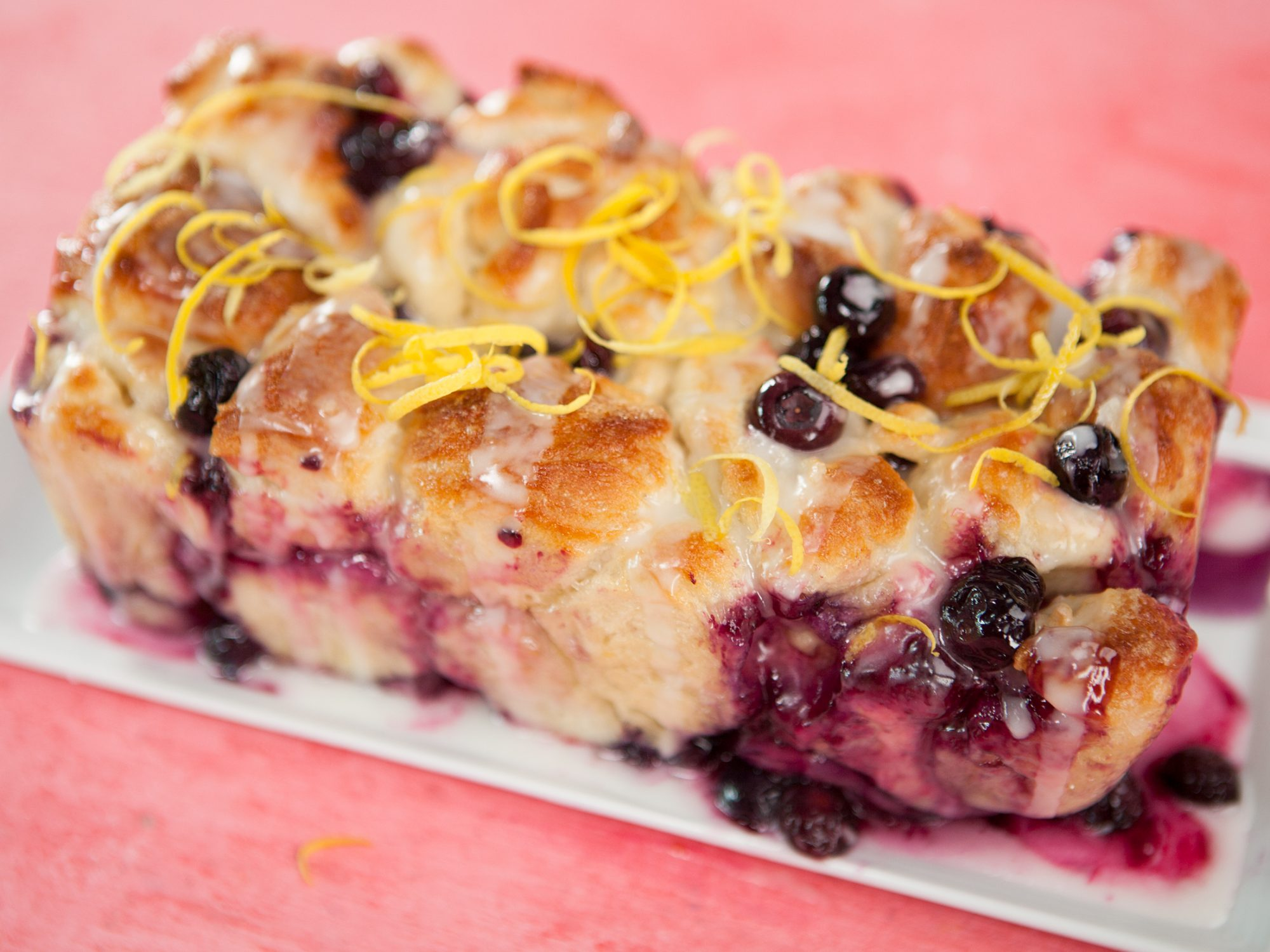 Blueberry Lemon Monkey Bread