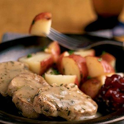 <p>Rosemary Pork Tenderloin</p>