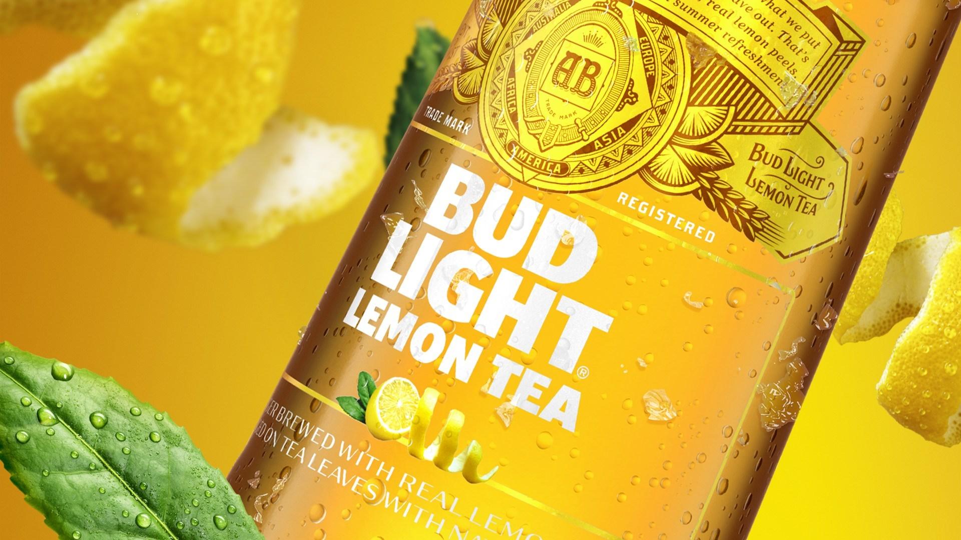 Bud Light Lemon Tea Is Here and It Tastes Like 'Summer and Sunshine'