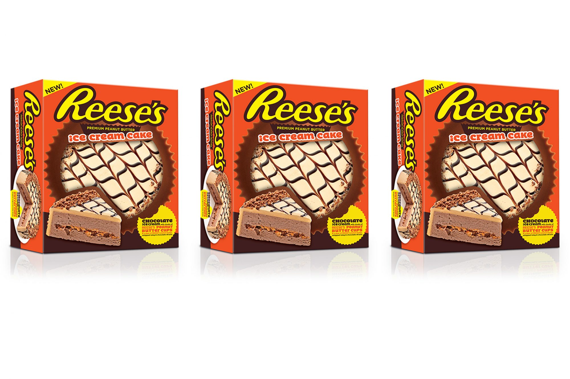 Reese's Ice Cream Cake Exists, So Start Running to the Grocery Store