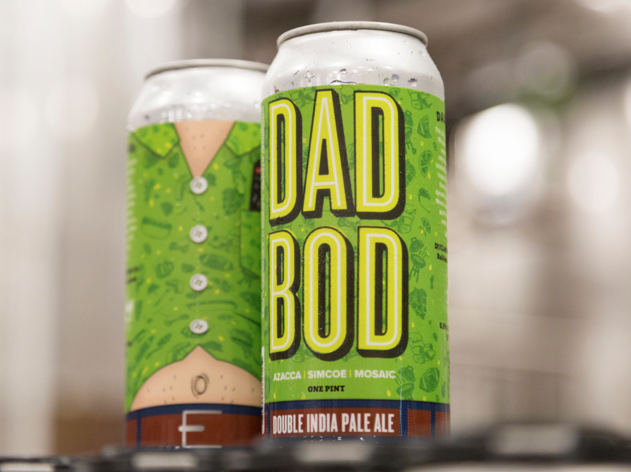 This Brewery Is Selling 'Dad Bod Beer' for Father's Day