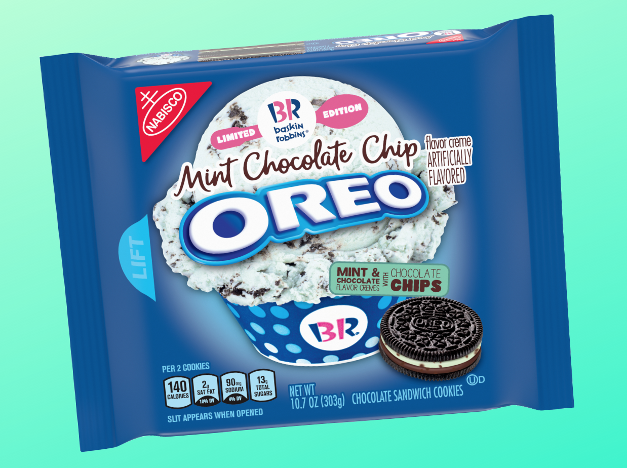 Mint Chocolate Chip Oreos Are Happening This Summer