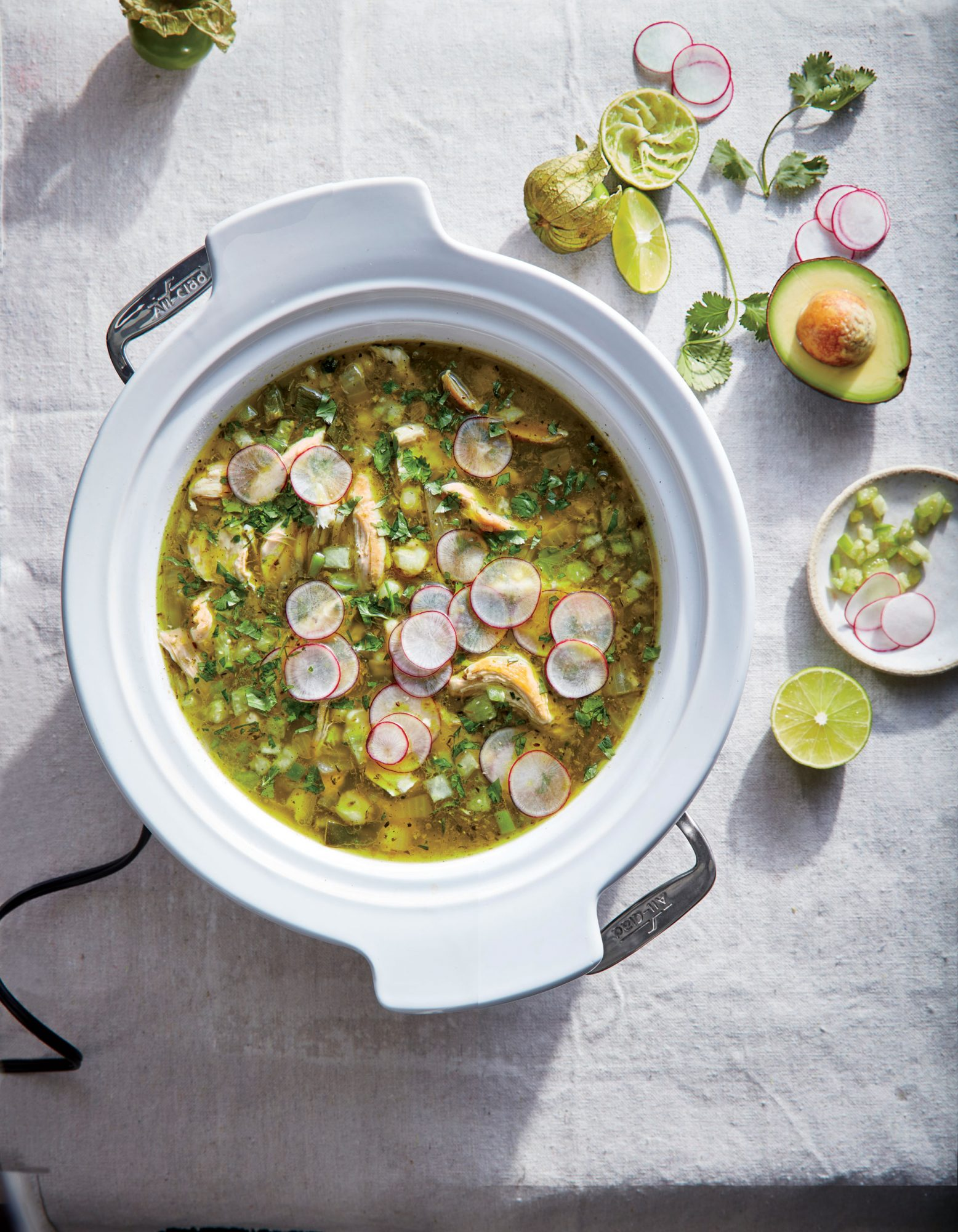 Slow Cooker Chicken Posole image