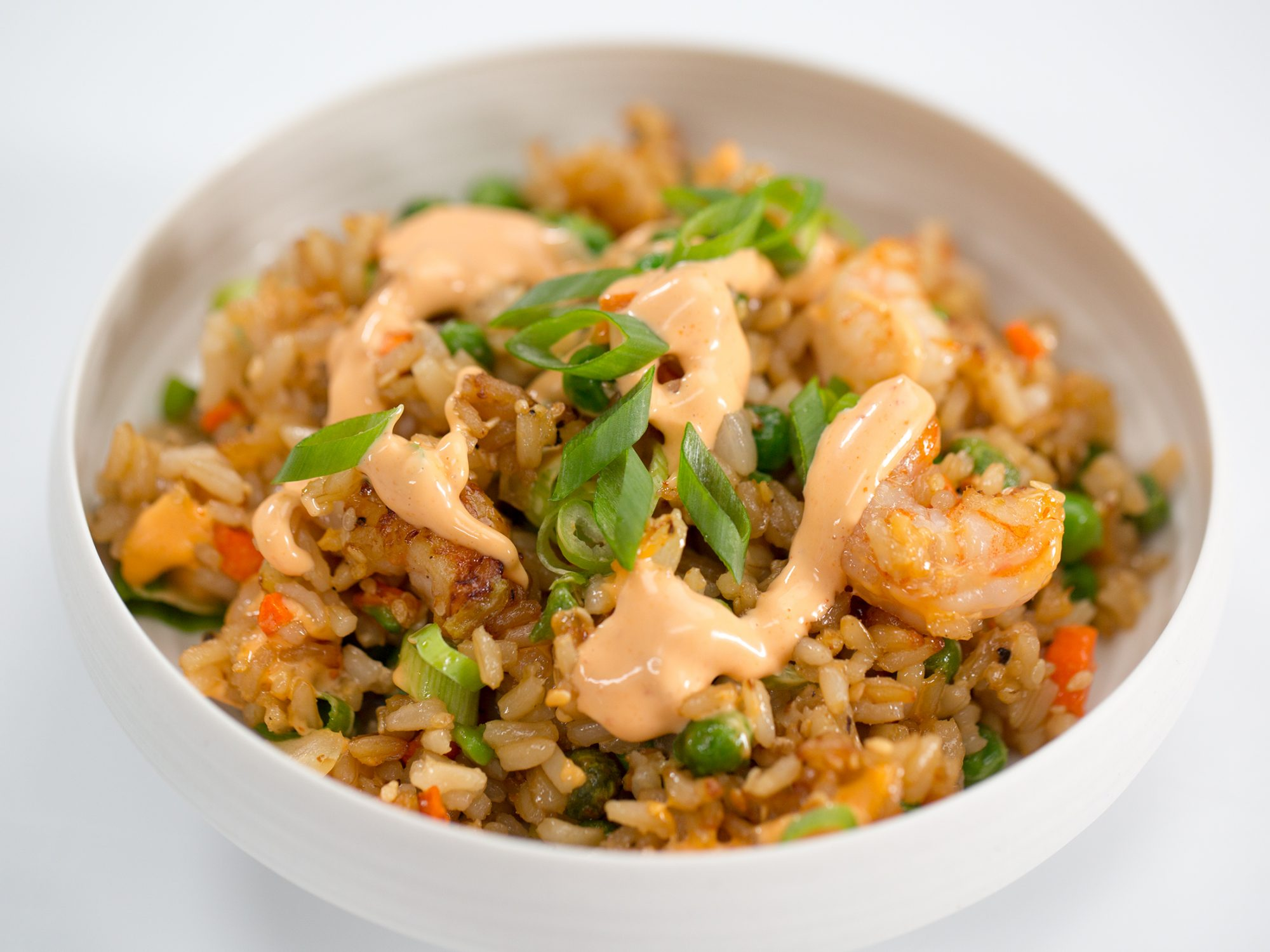 Air-Fried Shrimp Fried Rice