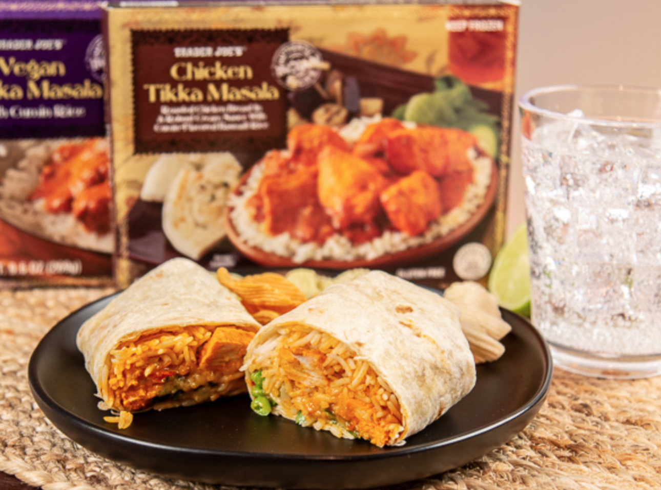 These Trader Joe's Tikka Masala Burritos Are Almost Too Convenient