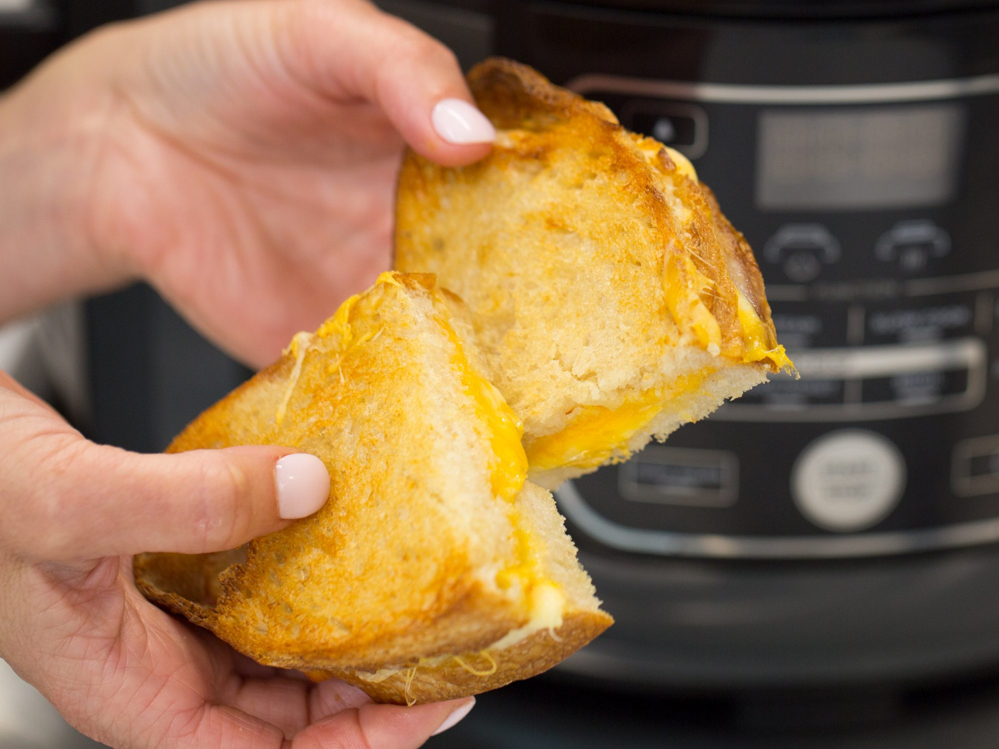 Air-Fried Grilled Cheese