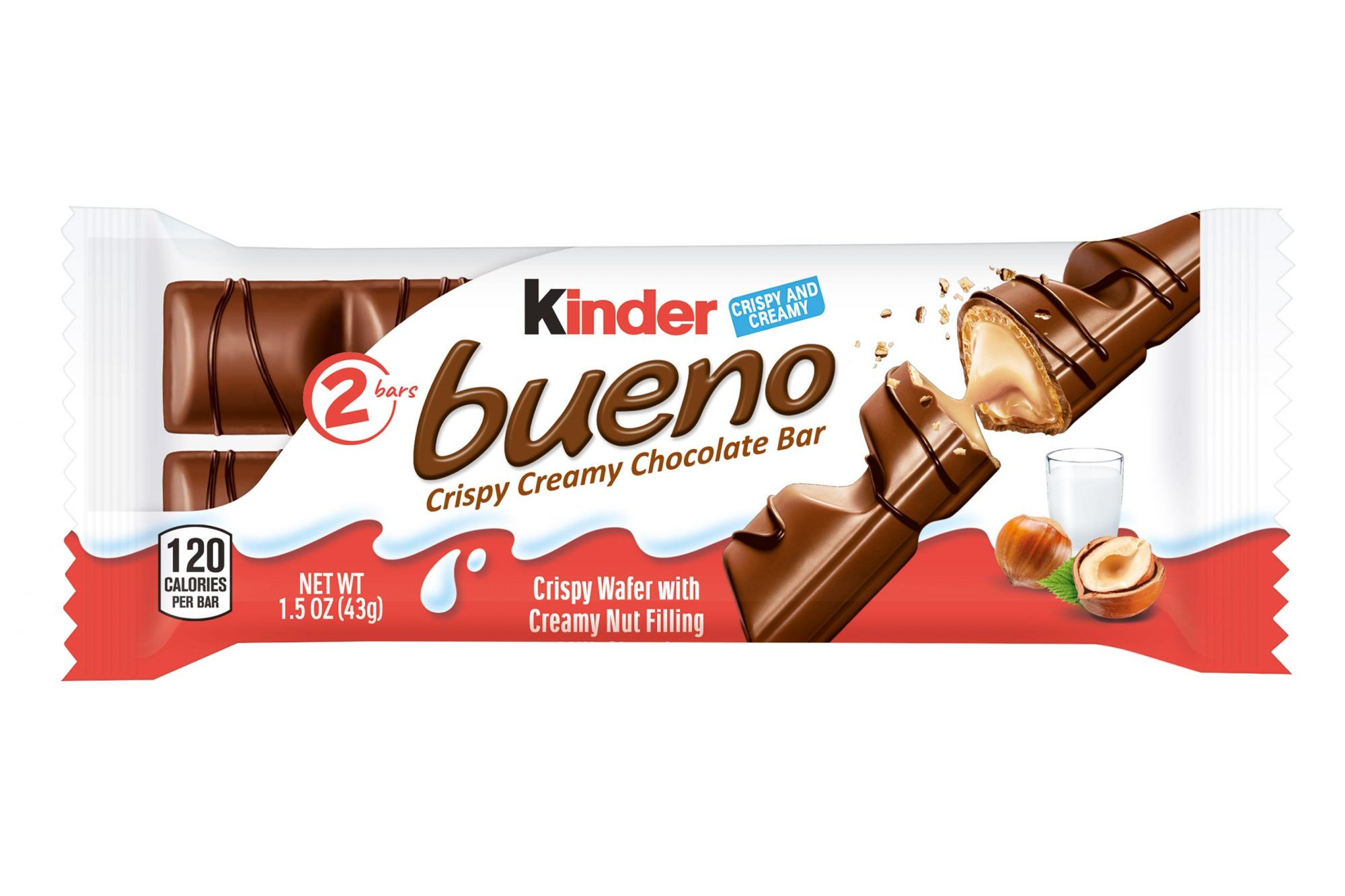 Kinder Bueno Chocolate Bars Are Finally Coming to the U.S.